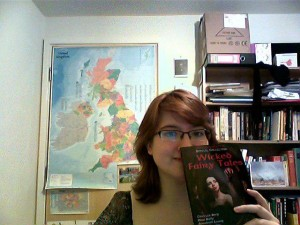the author and her book